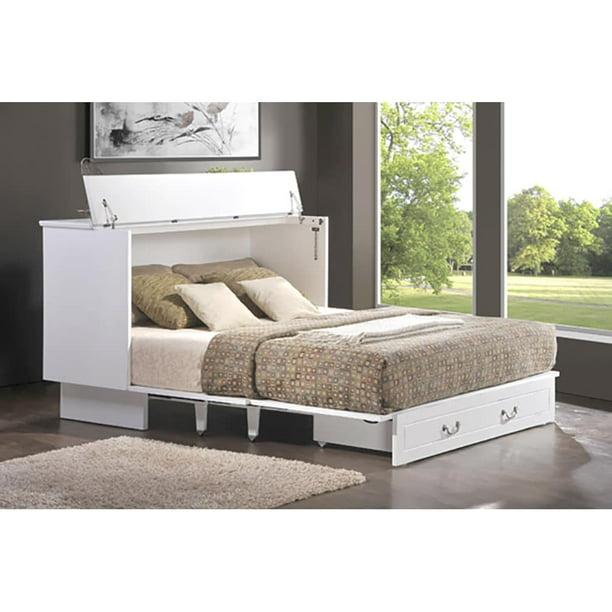 Pyper Marketing Llc Cottage Queen, Queen Murphy Storage Platform Bed With Mattress