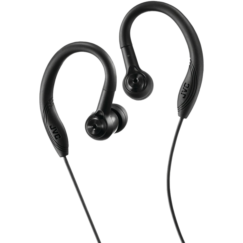 JVC HAEC10B Entry-Level Fitness Headphones