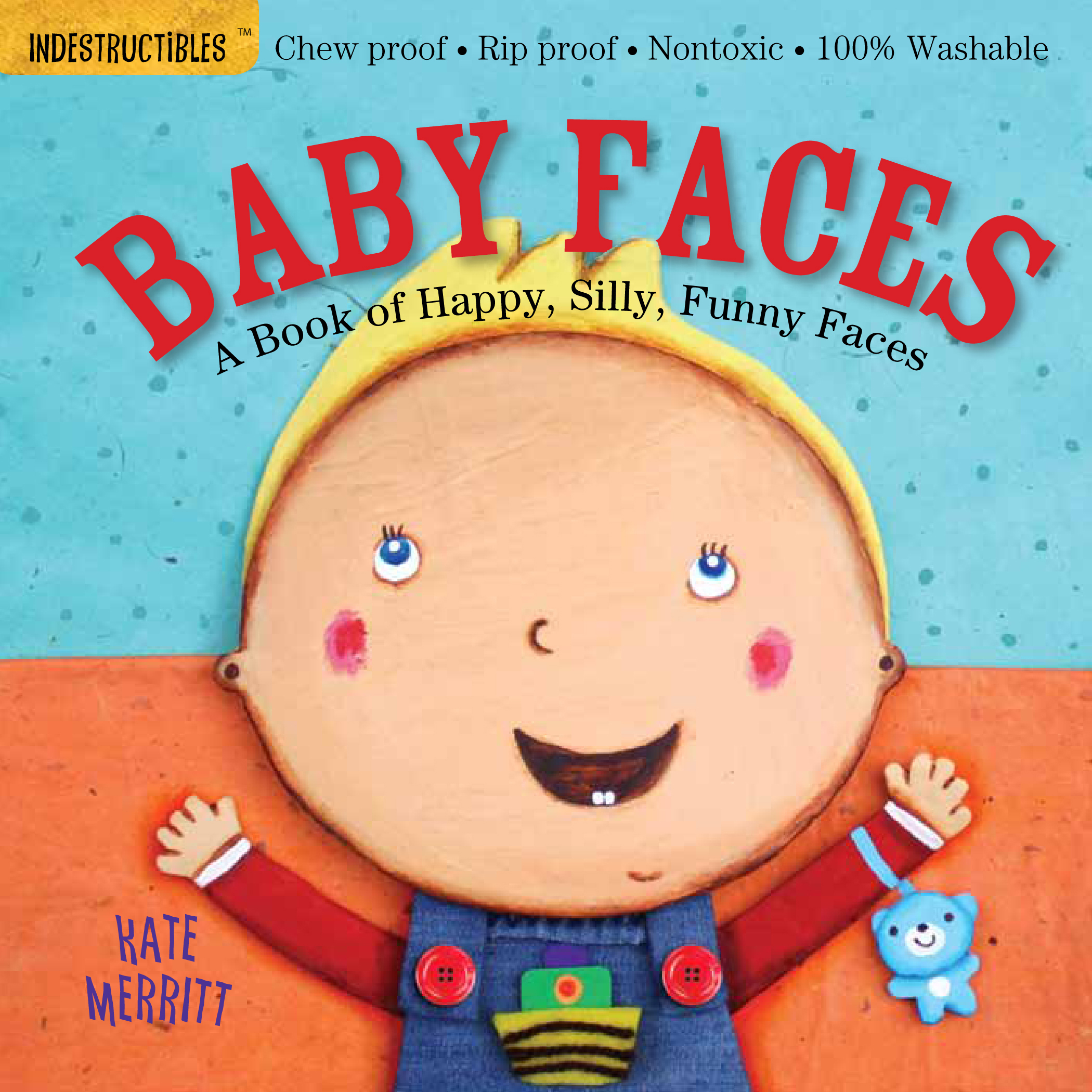 Indestructibles: Baby Faces - Paperback