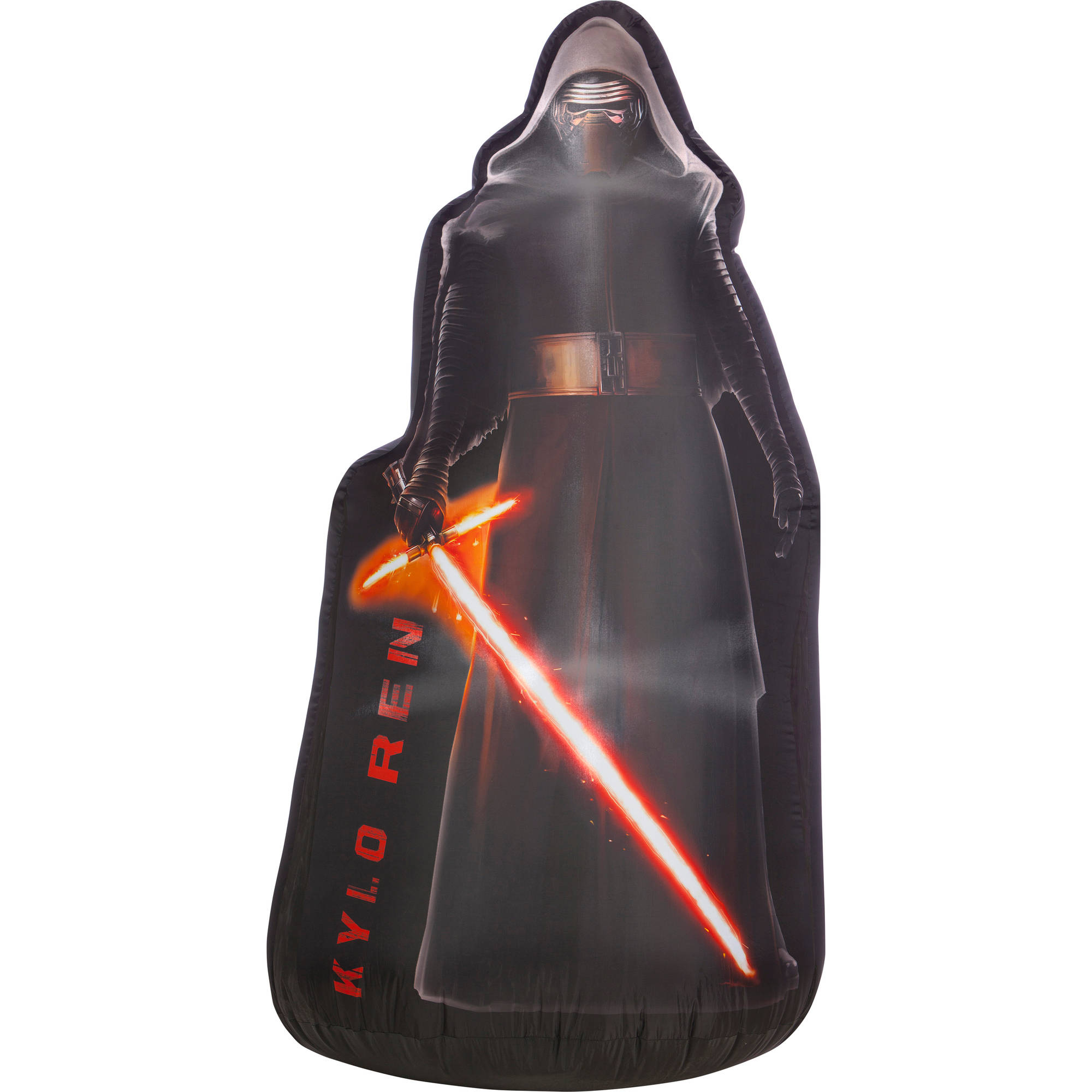 gemmy airblown christmas inflatables 5 air blown photorealistic kylo ren star wars walmartcom - Star Wars Inflatable Christmas Decorations