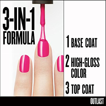 COVERGIRL Outlast Stay Brilliant Nail Gloss Daisy Bloom 30 37 oz (packaging may vary) - image 2 de 3
