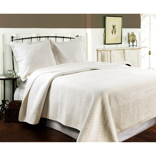Global Trends Madison Ivory Reversible Quilt Set by Generic