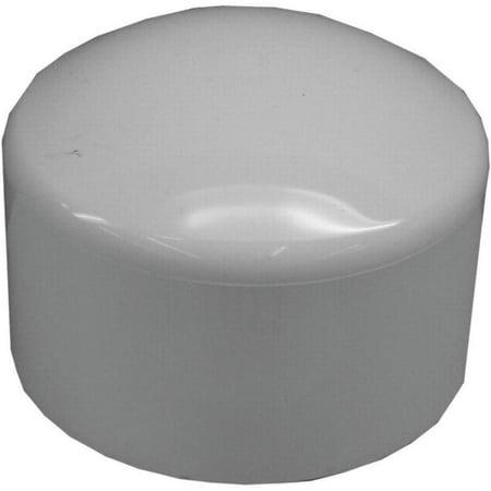 Genova 300 Dome Shaped Top Pipe Cap, 3 in, Slip, SCH 40, - 3 Pvc Slip Cap