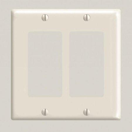 2 Gang Decora Plate Light Almond - image 1 de 1