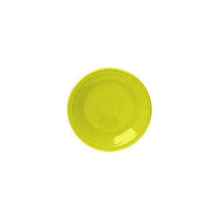Homer Laughlin Bread Plate (Homer Laughlin 464332 Fiesta Lemongrass 7.25
