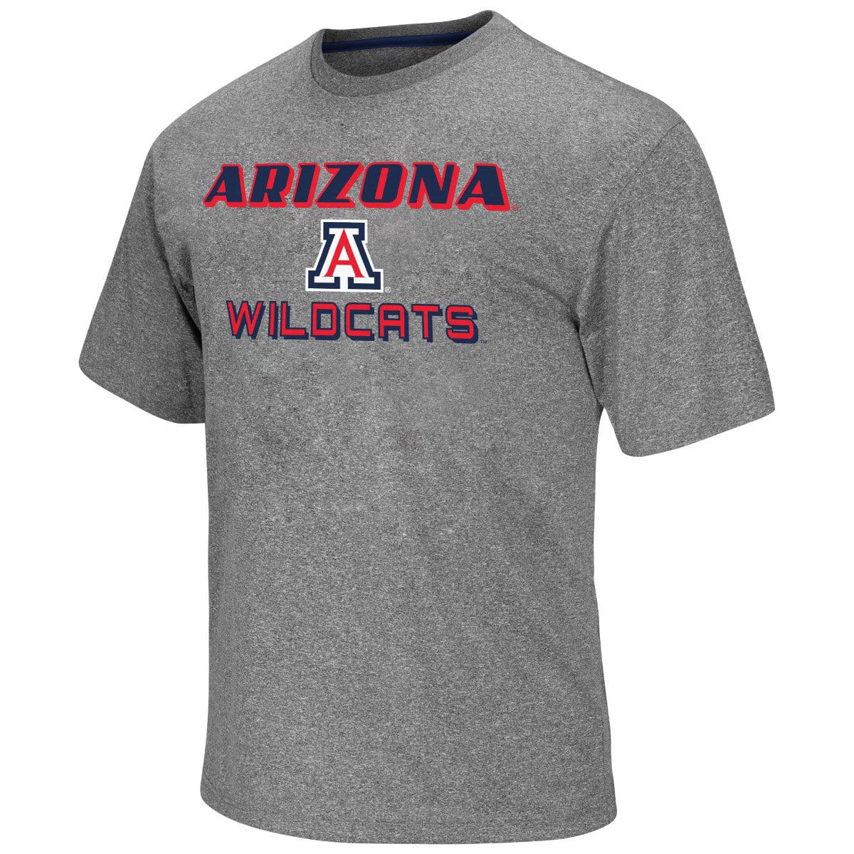 "Arizona Wildcats NCAA ""Arena"" Men's Performance Shirt - Charcoal"