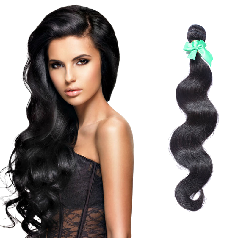 "Indian - 18"" Body Wave 100% Unprocessed Human Hair Extensions IS18"
