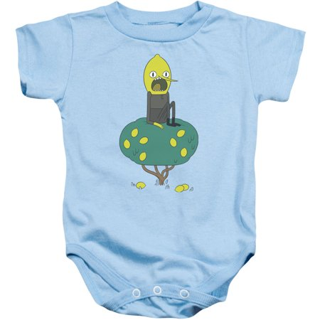 Adventure Time Boys' Lemongrab Bodysuit Light Blue