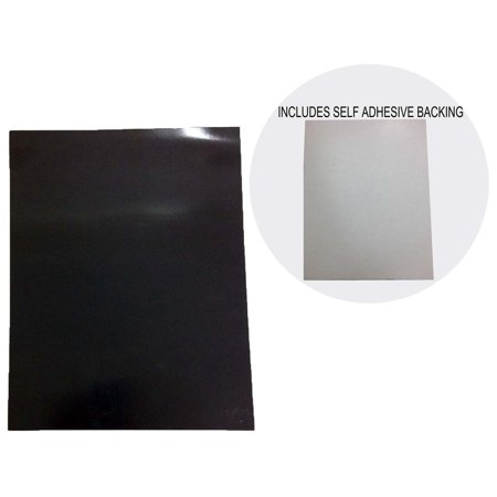 Magnetic, Adhesive Backed Sheet with Peel Away Paper - Standard Paper Size : ( Pack of 2 Pcs. ) (Truvue: MC-18909-Z02)](Magnetic Paper)