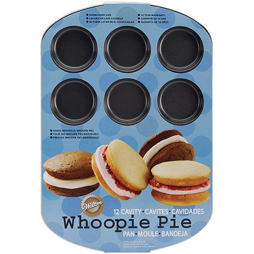 Wilton 12-Cavity Whoopie Pie Pan, Round 2105-0615