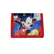 Disney Mickey Mouse Clubhouse Bi-Fold Wallet Red Blue