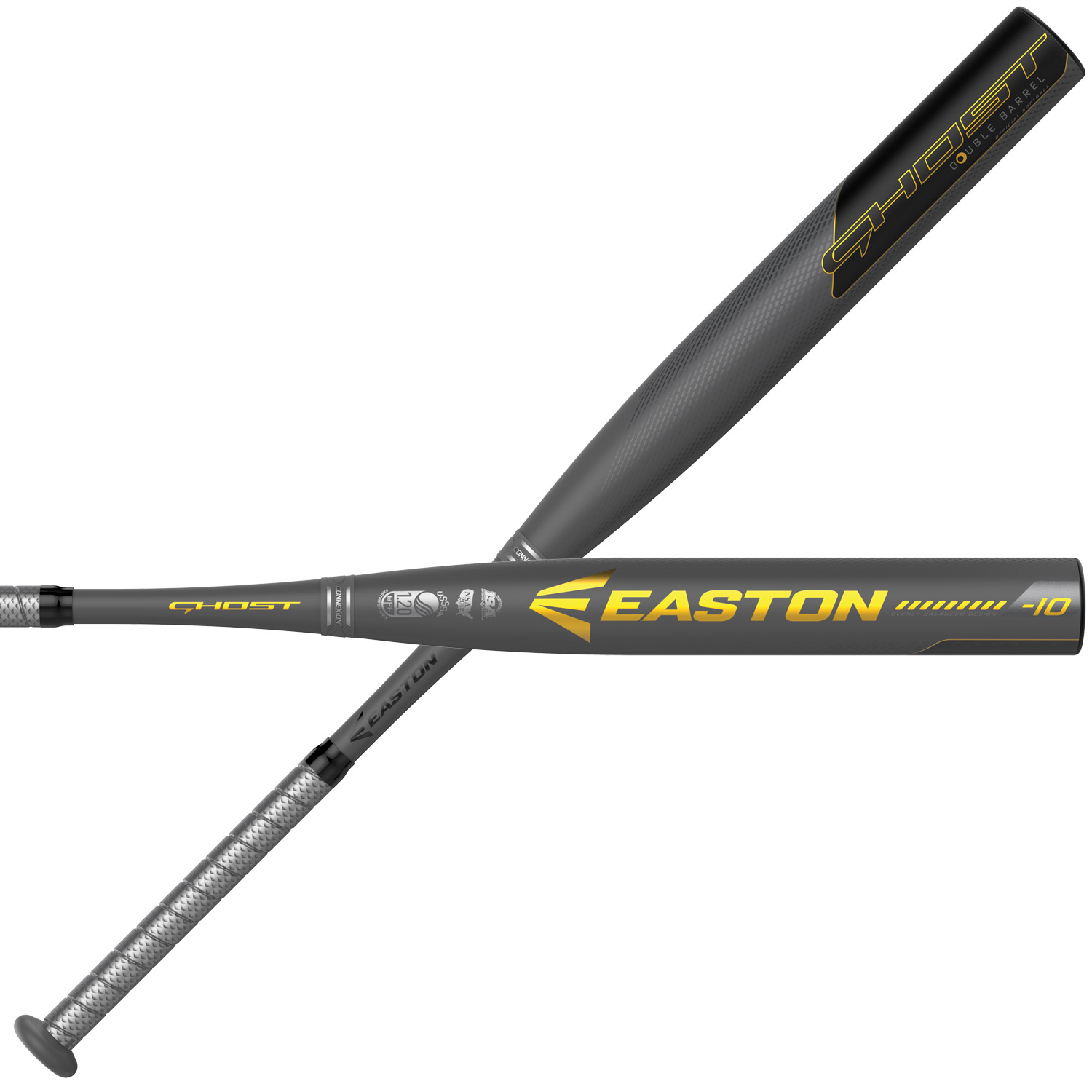 Easton Ghost Double Barrel USSSA (-10) FP19GHU10 Fastpitch Softball Bat