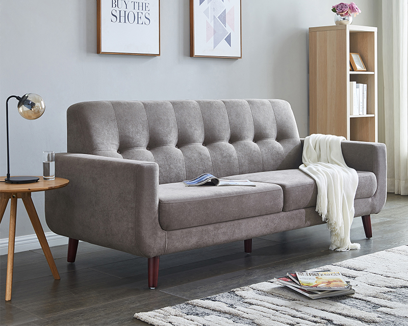 Clearance!Brown Couches and Sofa, Mid Century Modern ...