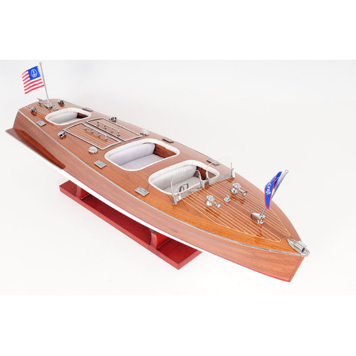 Click here to buy Old Modern Handicrafts Chris Craft Triple Cockpit Model Boat by Old Modern Handicrafts.