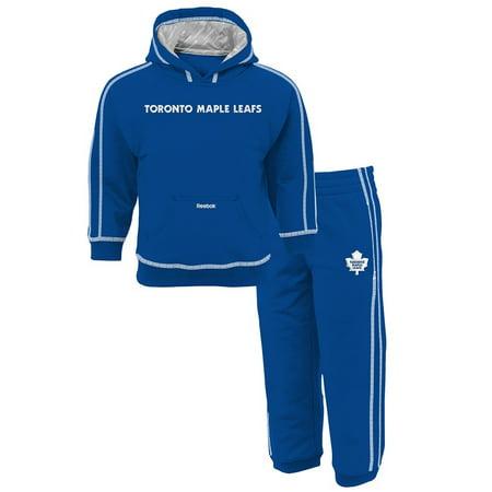 Toronto Maple Leafs Reebok Pullover Hoodie Fleece & Pants 2 Piece Set Toddler