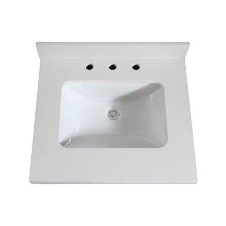 Amazing Avanity Quartz 25 Single Bathroom Vanity Top Home Interior And Landscaping Ologienasavecom