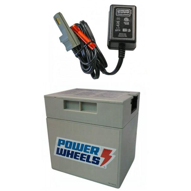 power wheels jeep wrangler battery & battery charger t7298, w9418 -  walmart.com - walmart.com  walmart
