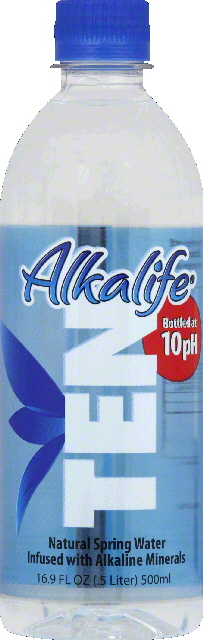 Natural Spring Water; Bottled At 10Ph by Alkalife