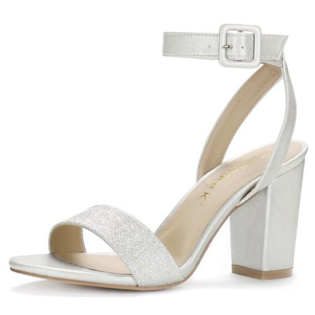 Women's Slingback Ankle Strap High Heels Sandals New Black High Heel Slingback