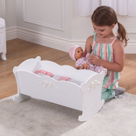 Best KidKraft Tiffany Bow Doll Cradle deal