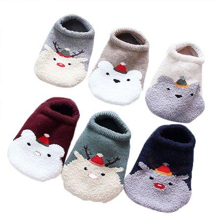 6fbb917e837 Aniwon - 6 Pairs Christmas Socks
