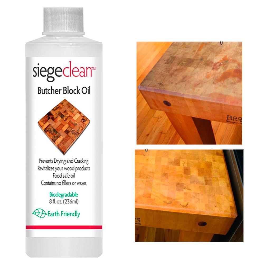 Butcher Block Oil Cutting Board Wood Bamboo Food Grade Safe Mineral Natural 8