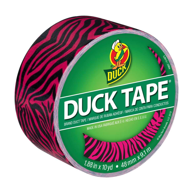 """Patterned Duck Tape 1.88""""X10yd-Leopard"""