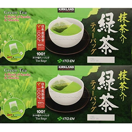 Kirkland Ito En Matcha Blend Japanese Green Tea tvzeLZ, 2Pack (100