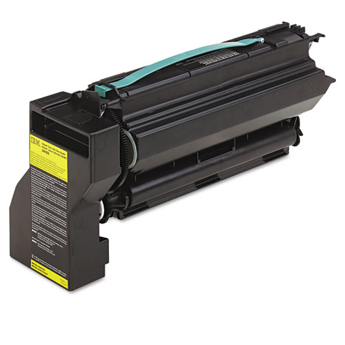 InfoPrint Solutions Company 39V1922 High-Yield Toner, 10000 Page-Yield, Yellow