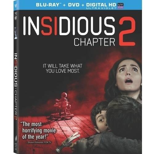 Insidious: Chapter 2 (Blu-ray + DVD + Digital HD) (With INSTAWATCH) (Widescreen)