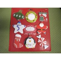 New ! 24 PK Holiday Seasons Spritz Gift Tags with 8 Designs Happy Holidays