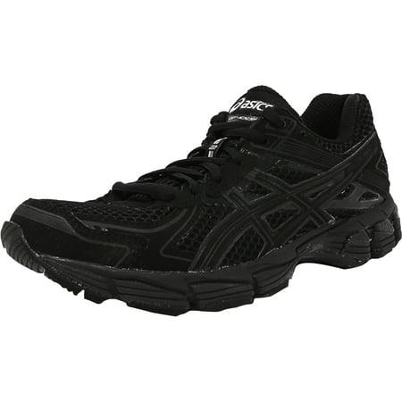 Asics Women's Gt-1000 2 Black / Onyx Lightning Ankle-High Fabric Running  Shoe