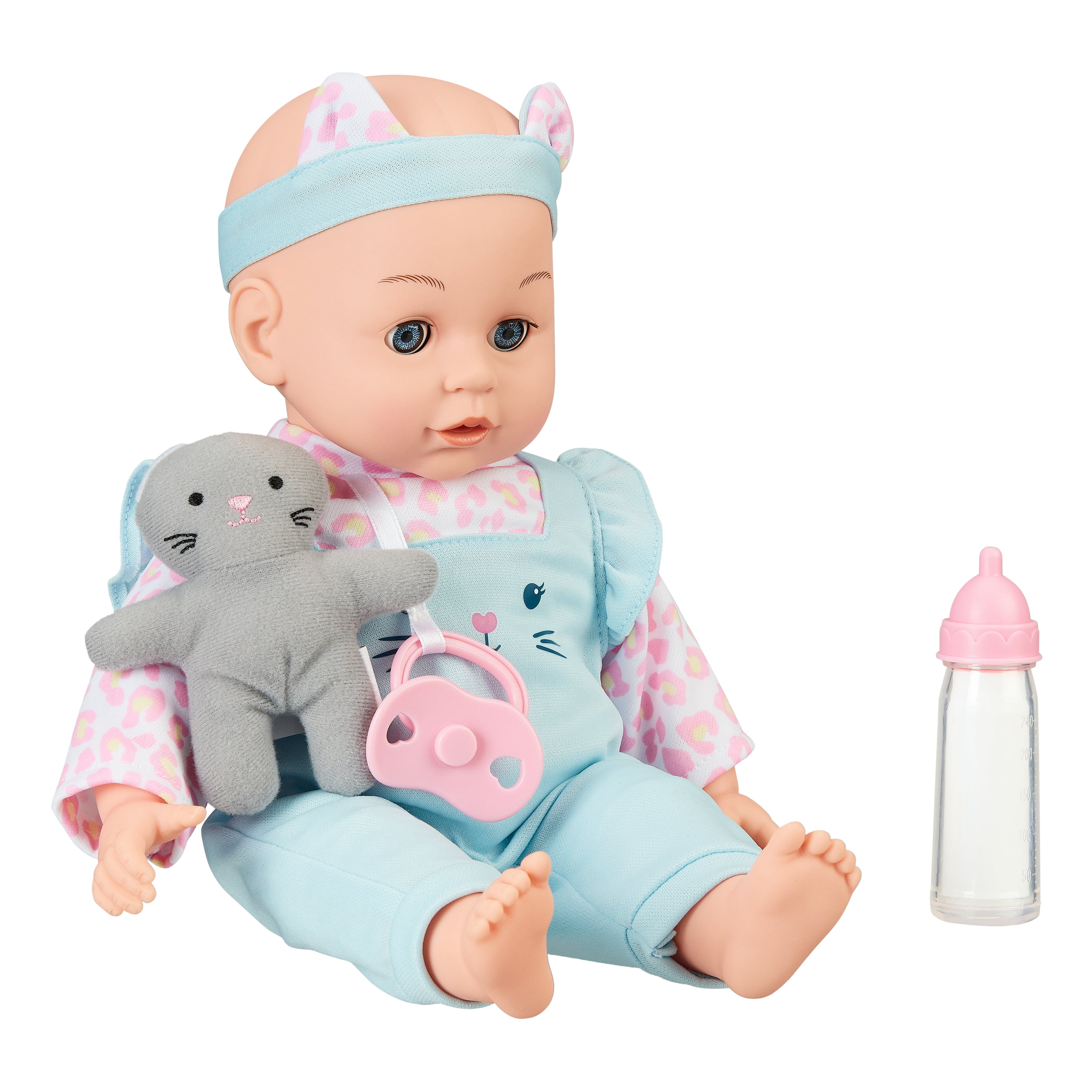 My Sweet Love Sweet Baby Doll Toy Set 4 Pieces