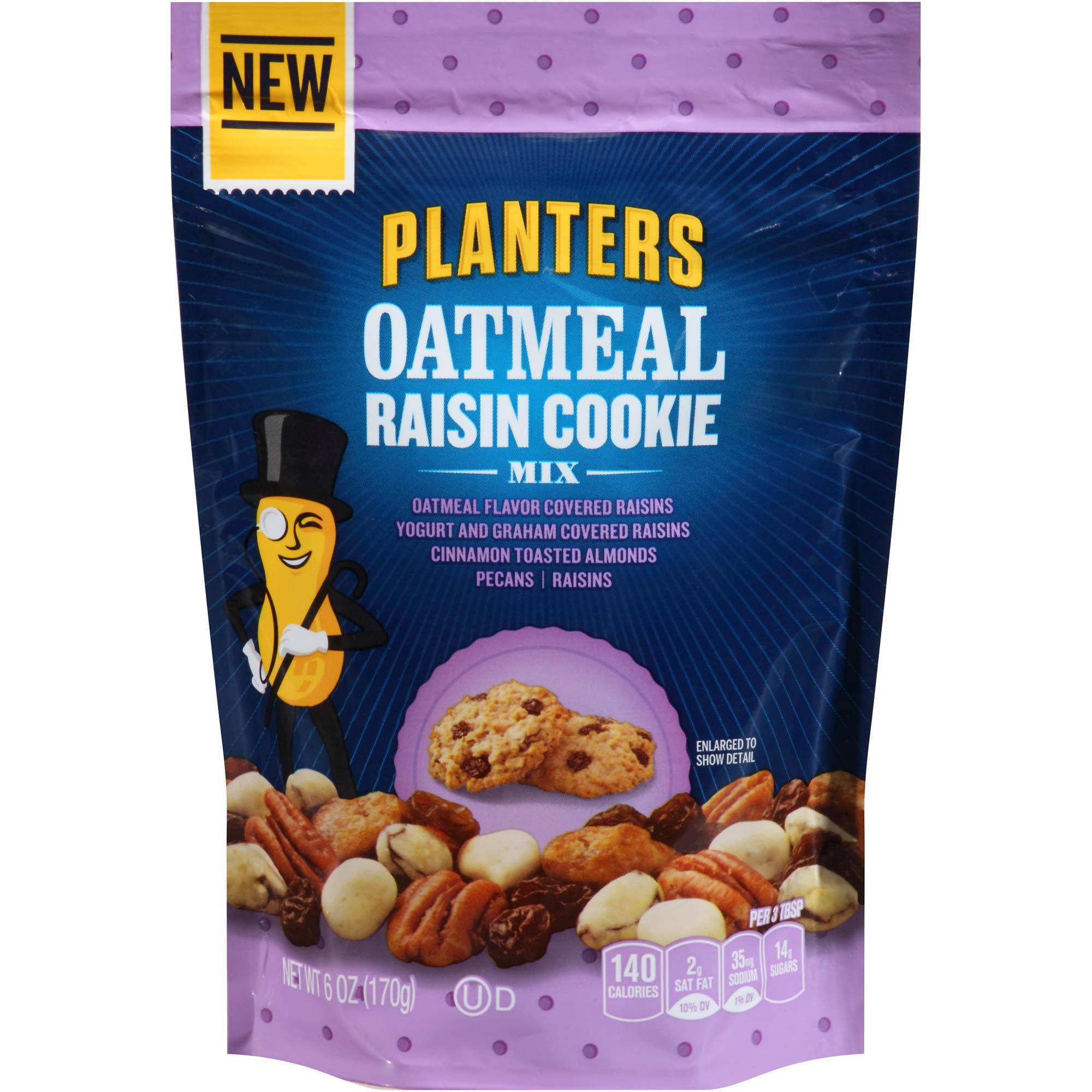 Planters Oatmeal Raisin Cookie Mix, 6 oz