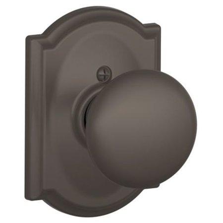 SCHLAGE F170 PLY 613 CAM Knob Lockset,Mechanical,Dummy,Grd. 2