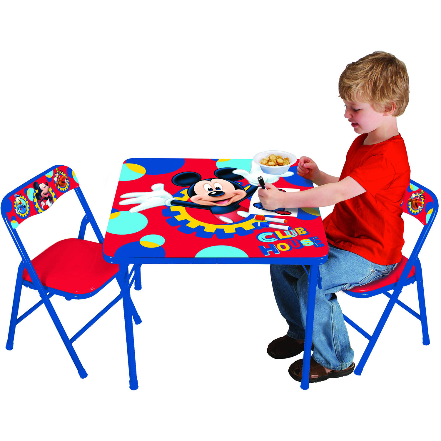 Disney Mickey Mouse Playground Pals Activity Table Set - Walmart.com