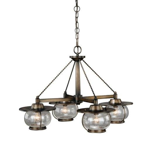 Vaxcel Lighting H0007 Chandeliers Jamestown Indoor Lighting ;Parisian Bronze