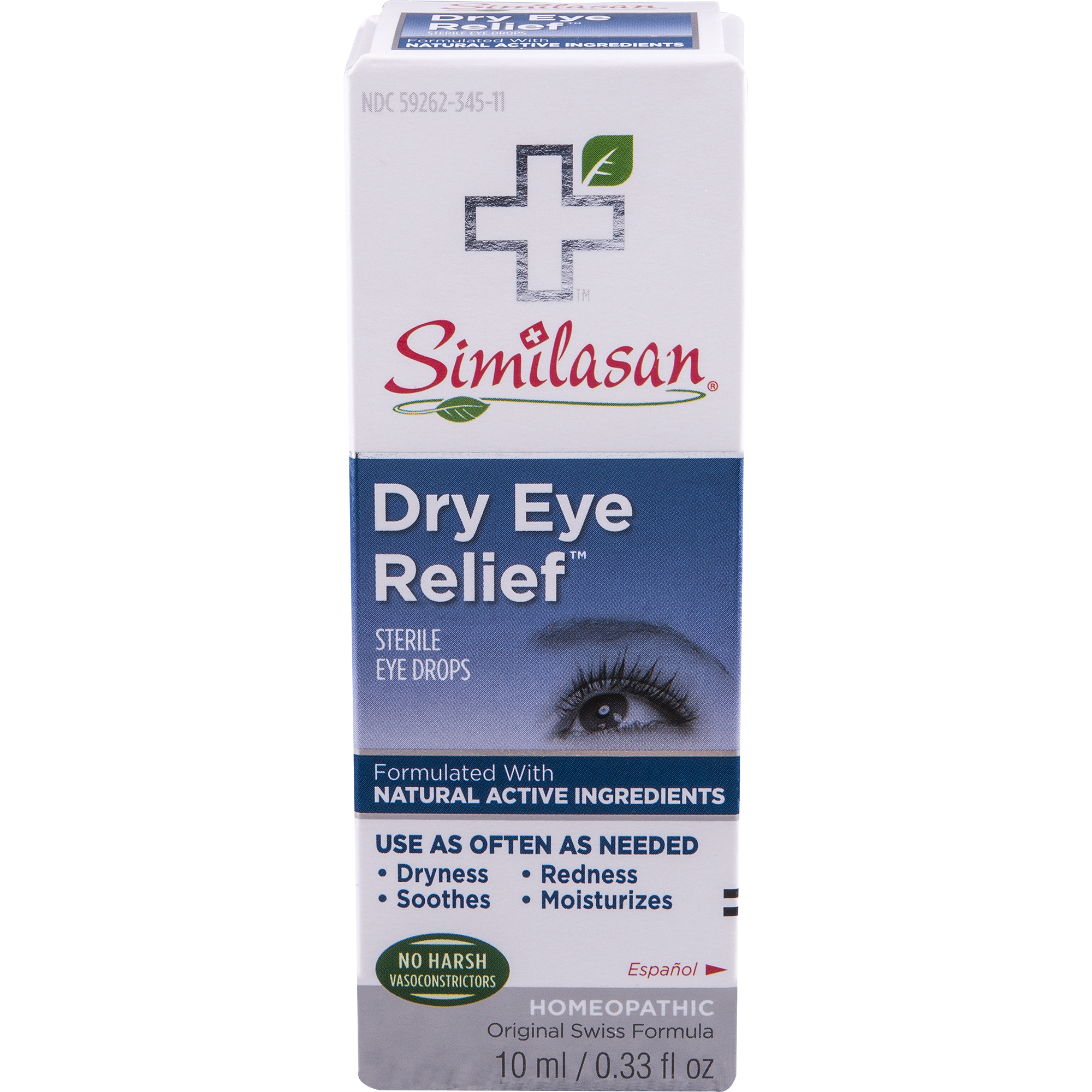 Similasan Dry Eye Relief Sterile Eye Drops, 0.33 FL OZ