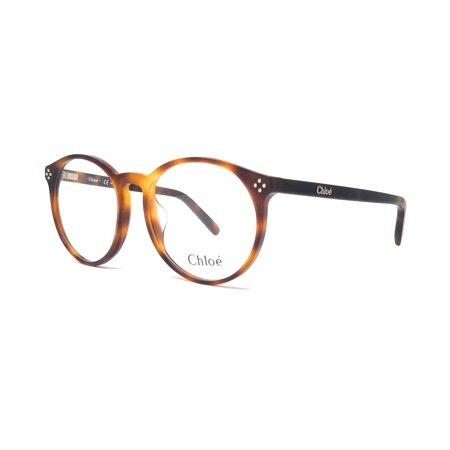 218 Eyeglasses (CHLOE Eyeglasses CE2714 218 Havana Round 54x17x140)