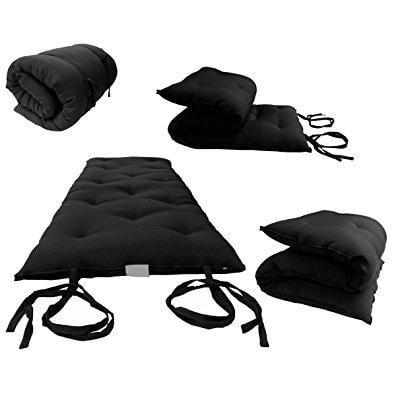 Brand New Twin Size Traditional Japanese Floor Futon Mattresses Tatami Foldable Cushion Mats Yoga