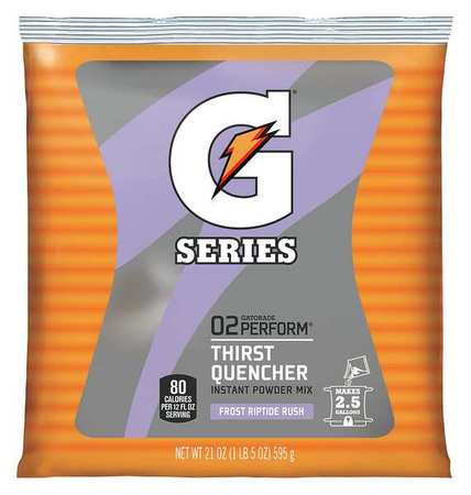Gatorade Sports Drink Mix Powder, Riptide Rush 21 oz., 33673