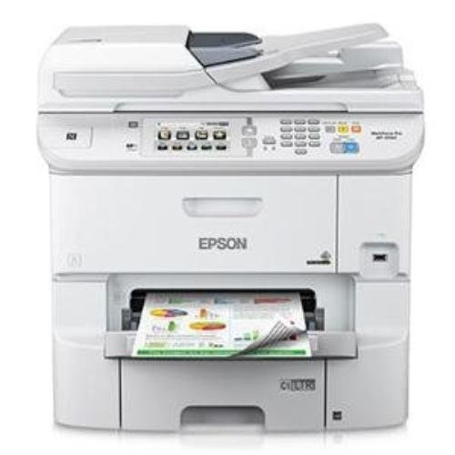 Epson WorkForce Pro WF-6590 Inkjet Multifunction Printer - Color - Plain Paper Print - Desktop C11CD49201