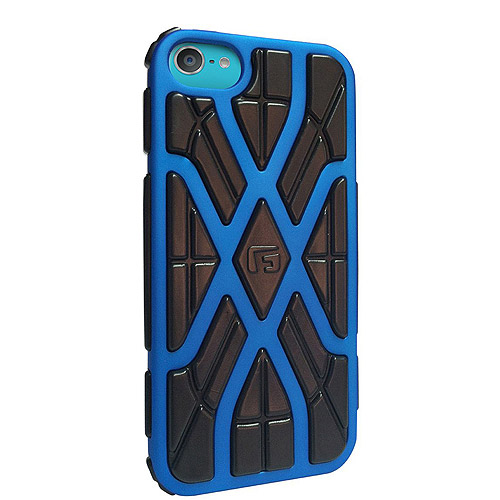 G-Form XTREME X Ruggedized Protective Case for Apple iPod touch 5G, Blue/Black