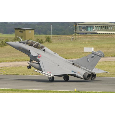 - A French Air Force Rafale jet during Exercise Green Shield Stretched Canvas - Giovanni CollaStocktrek Images (35 x 22)