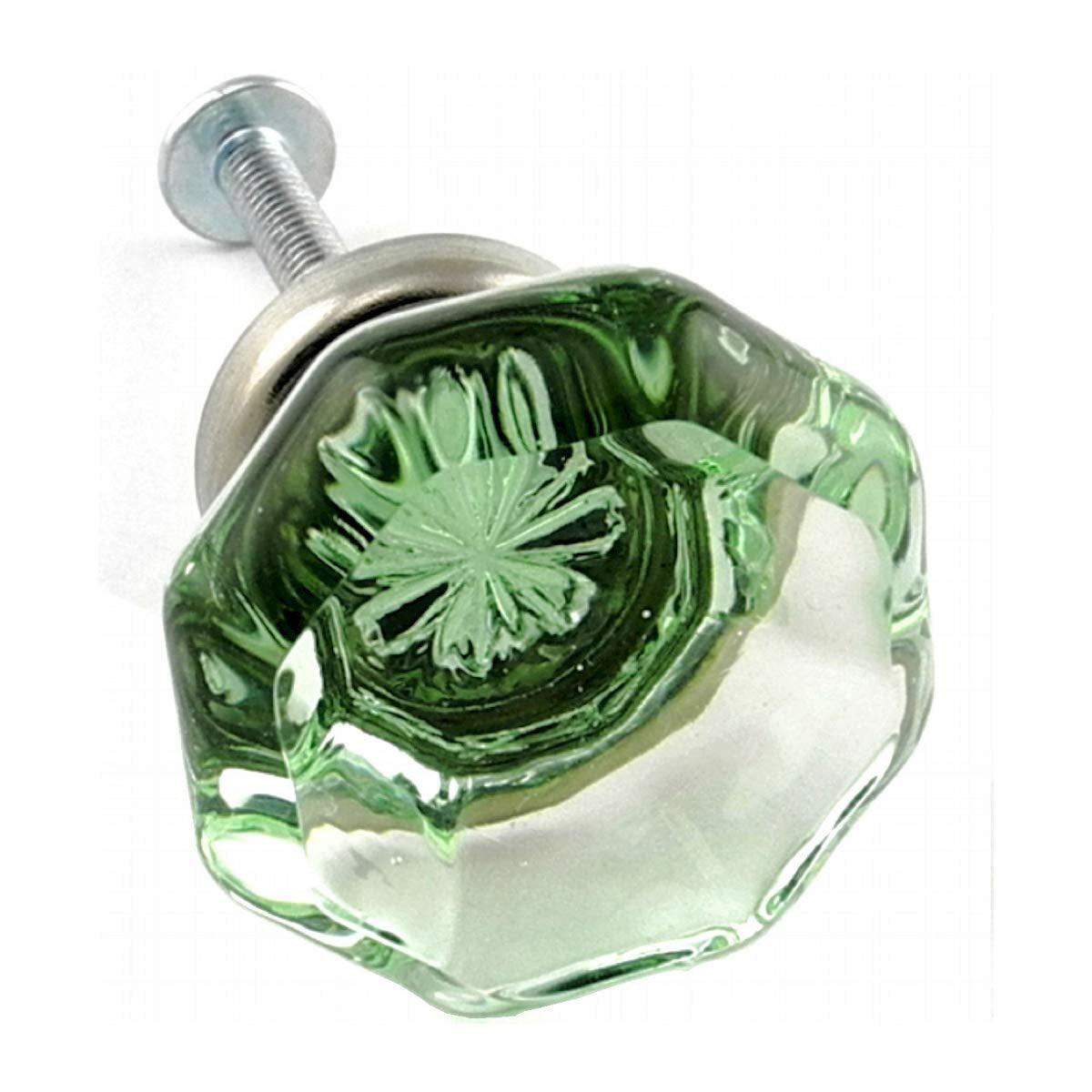 Kitchen Cabinet Handles Dresser Glass Pulls Decorative ...