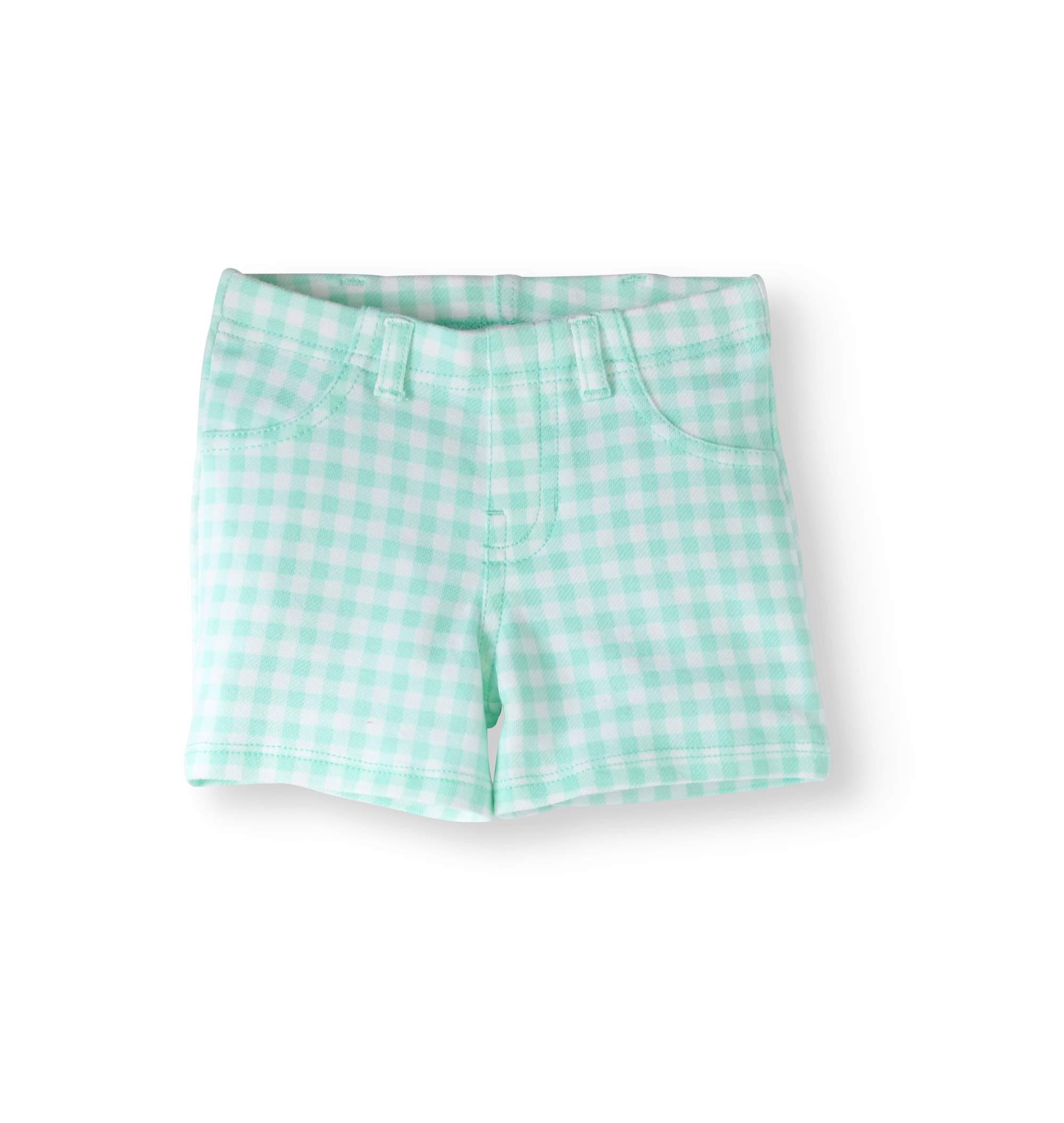 Baby Girls' Printed Jegging Shorts