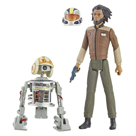 Star Wars Animated Maquettes (Star Wars: Resistance Animated Series Jarek Yeager and Bucket (R1-J5))