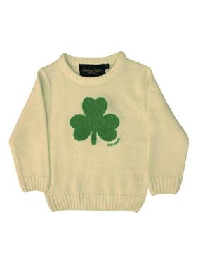 9b42265c5 Product Image Cream Knit Emerald Shamrock Kids Jumper