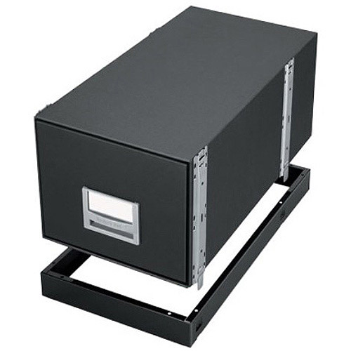 Bankers Box Metal Bases for Staxonsteel & High-Stak Files, Legal Size, Black