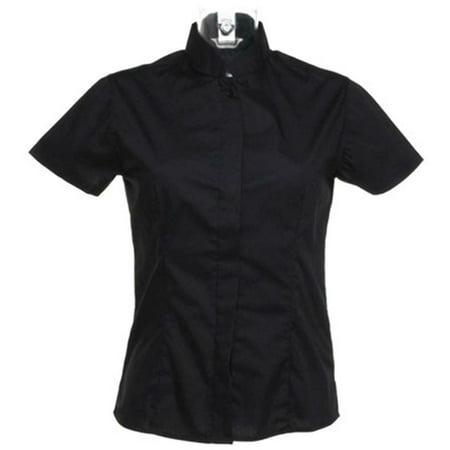 Bargear Ladies Short Sleeved Mandarin Collar Bar Shirt - image 2 of 6